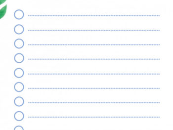 Cute Checklist Template