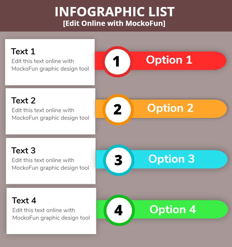 Infographic List Template