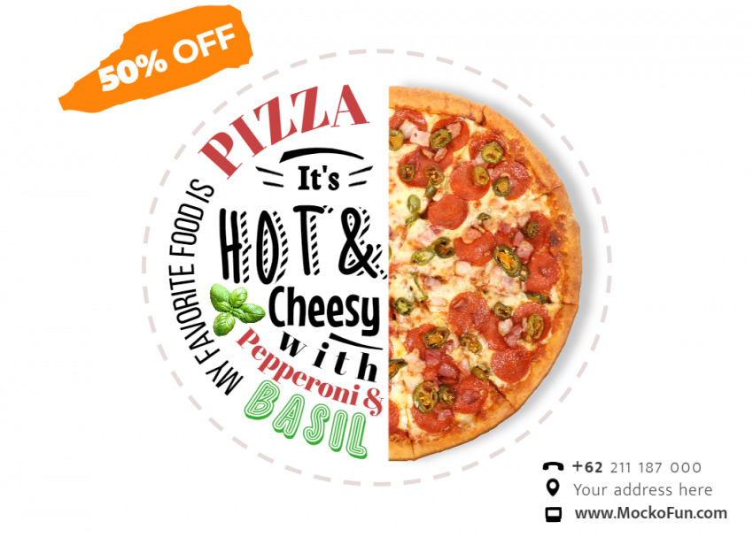 Pizza Banner Design