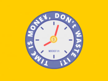 Time Is Money Graphic Image