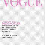 Vogue Cover Template Transparent