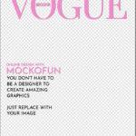 Vogue Cover Template Transparent