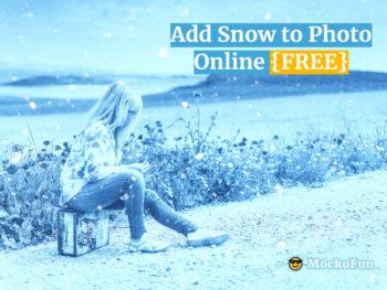 Add Snow to Photo