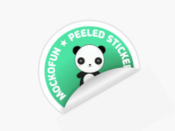 Peeled Sticker