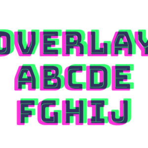 Font Overlay