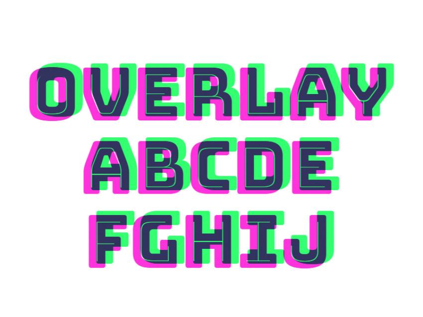 Font Overlay