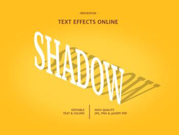 Drop Shadow Text
