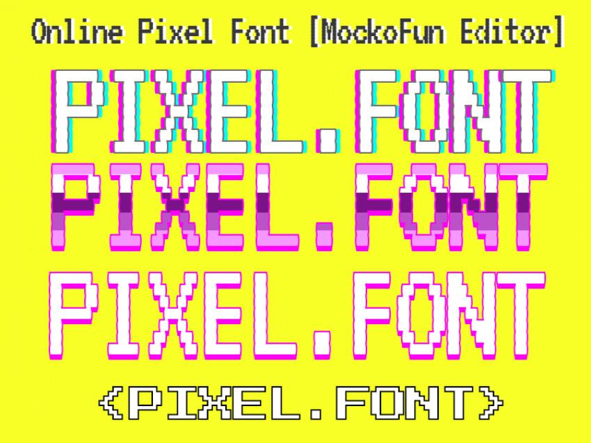 Free Pixel Font