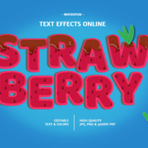 Strawberry Font