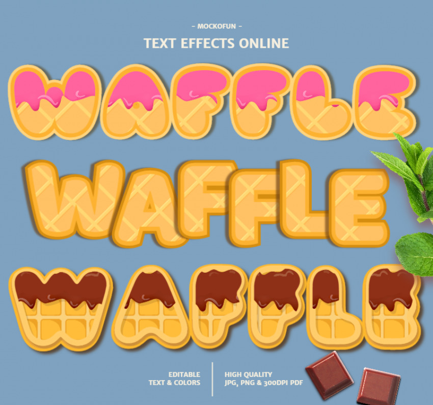 Waffle Font