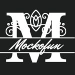 Split Monogram Font