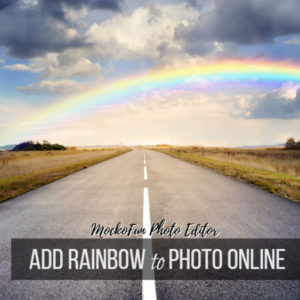 Add Rainbow To Photo
