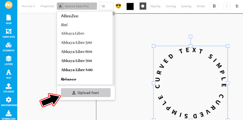 How To Upload Font In MockoFun