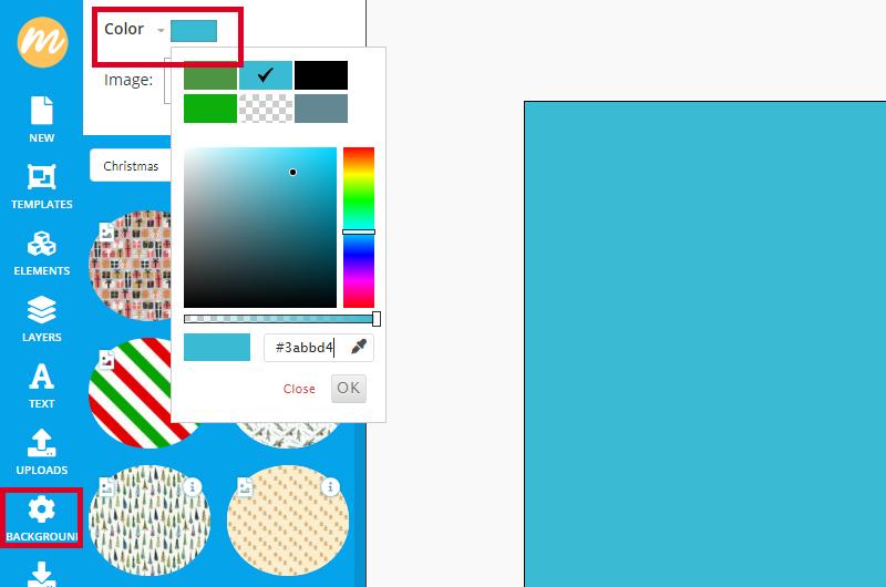 Blue Background Color