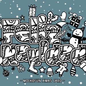 Feliz Navidad Coloring Page