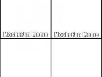 Square Meme Template