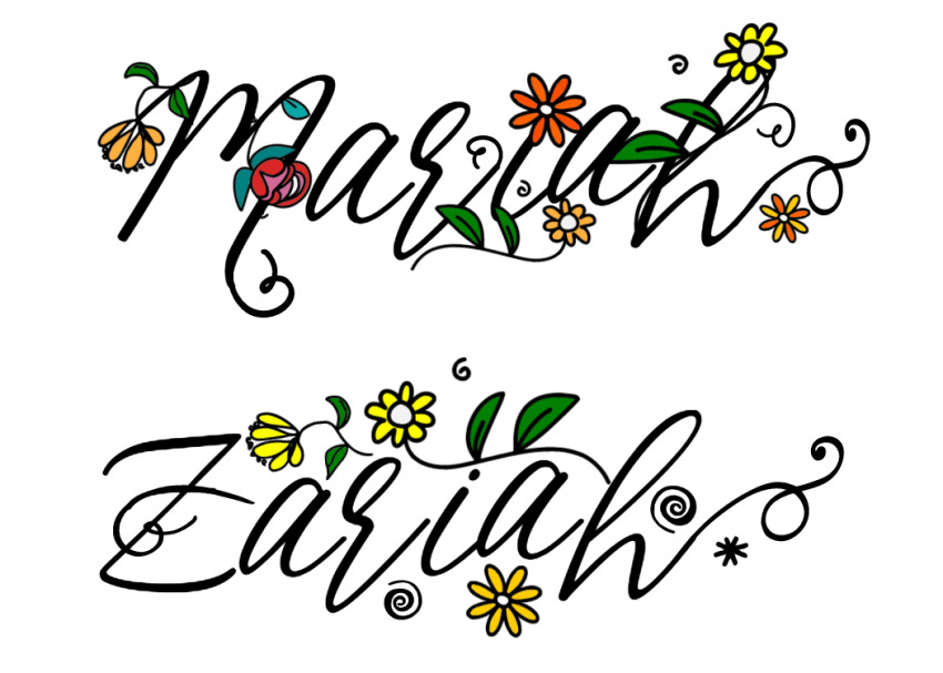 Name Art Image