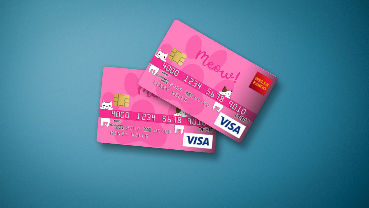 Wells Fargo Credit Card Design