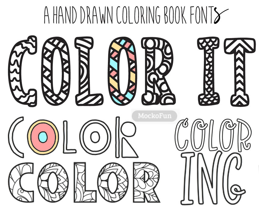 Colour In Font