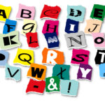 Alphabet Cut Out Letters