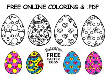 Free Printable Easter Eggs
