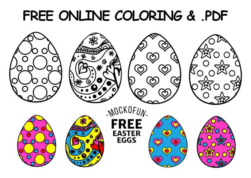 Free Printable Easter Eggs