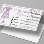 Business Card for Fashion Designer