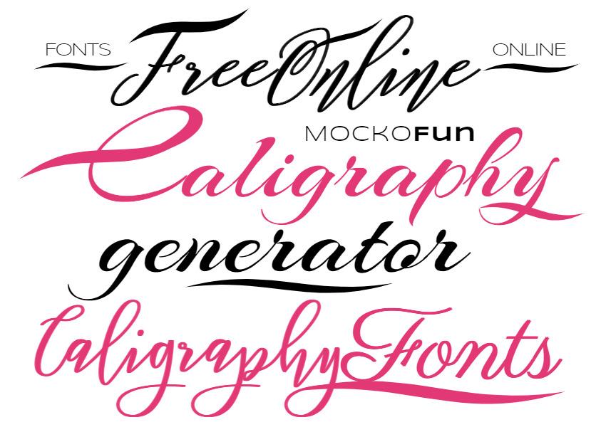 Calligraphy Font Generator
