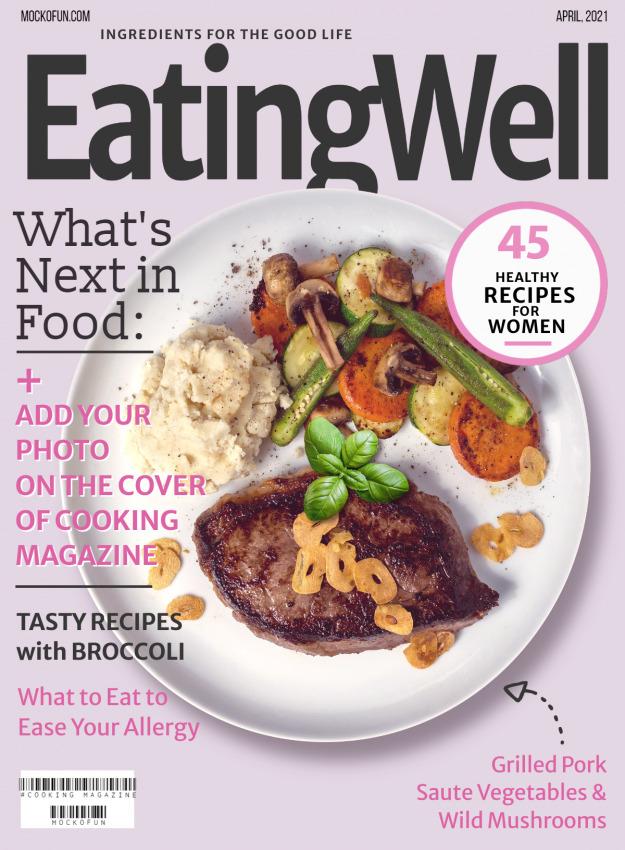 Food Magazine Cover