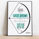 Bow and Arrow Quote