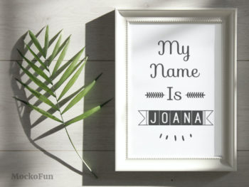 Framed Name