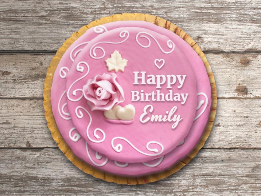 Friend Birthday Cake with Name