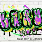 Graffiti Name Art