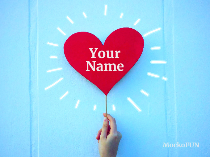 Name on Heart