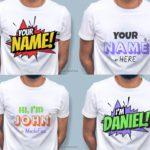 T-shirt Design Text