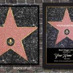 Blank Hollywood Star