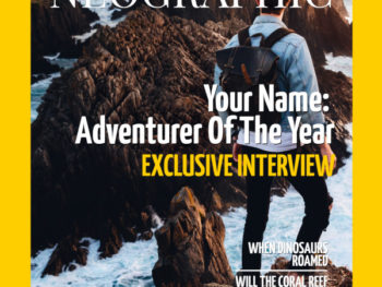 National Geographic Cover Template