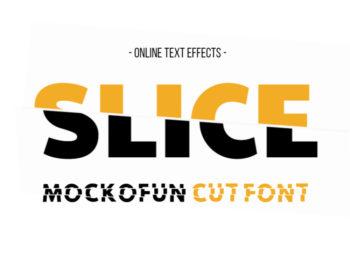 Cut Font Generator