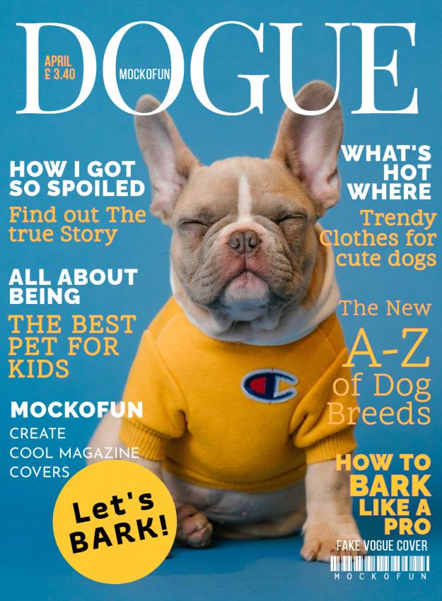 Dogue Magazine Cover