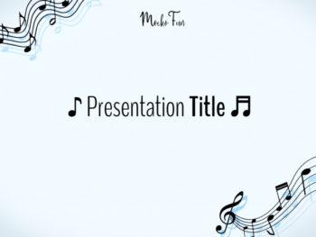 Music Presentation Background