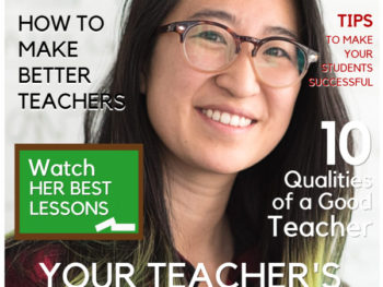 Teacher Magazine Cover