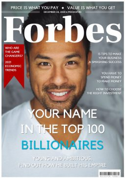 Forbes Magazine Cover Template