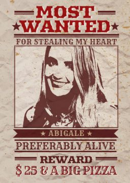 Wanted Poster Generator
